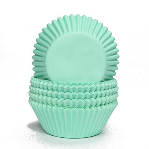 Papier-backförmchen Papier-förmchen Muffinförmchen Cupcakeförmchen Muffin Kapsel Cupcake Liner (MINT - 75 Stück)