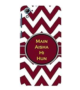 ifasho Designer Phone Back Case Cover HTC Desire 828 Dual Sim ( Gun Ready to fire )