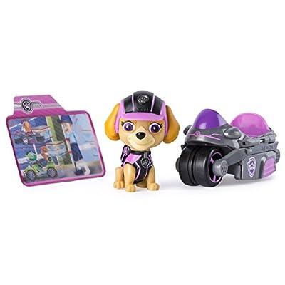 PAW PATROL Minivehículo de misiones y Skye de La Patrulla Canina (6037961) de Spin Master Toys UK