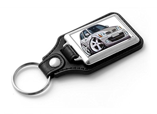 wickedartz-cartoon-car-nissan-micra-mk2-silver-classic-style-key-ring