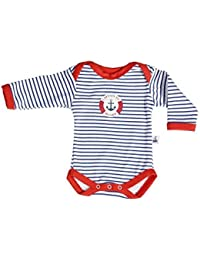 Hansekind T-Shirt langarm navy gestreift Größe 74//80