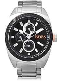 BOSS Orange Herren-Armbanduhr LONDON XXL Analog Quarz Edelstahl 1513246