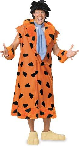 Kostüm Flinstone - Kostüm Fred Feuerstein Familie The Flintstones Mantel für Herren Herrenkostüm Gr. XXL / FC Fullcut