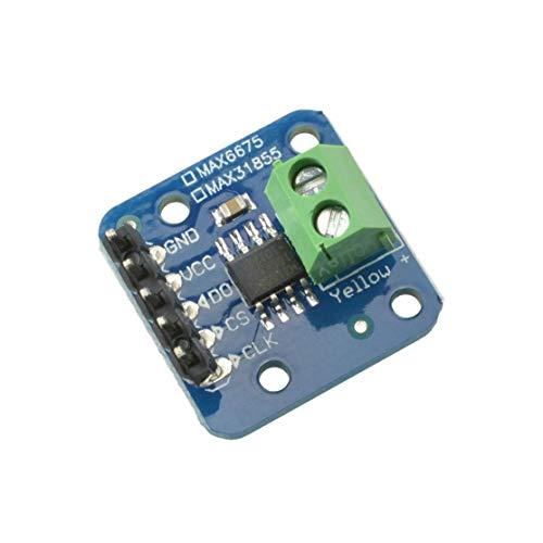 MAX31855 Termocoppia di tipo K termocoppia Temperatura scheda da -200C a + 1350 ° C Arduino(Color:blue)