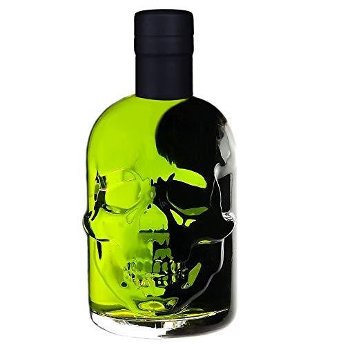 Absinth Skull Totenkopf grün 0,5L Testurteil SEHR GUT(1,4) Maximal erlaubter Thujongehalt 35mg/L 55{6ef3bdcb167627b5b3081ccb53f38cc39e2803666572959d3e18f73277b2242a} Vol