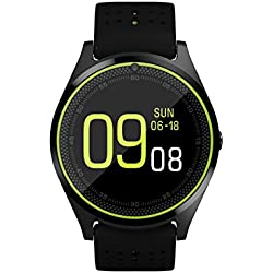 Bingo C10 Smart Watch in Green Color With Sim Enable and Whtsapp Features and Bluetooth Connectivity features Which Is Compatible With Android and IOS Device.