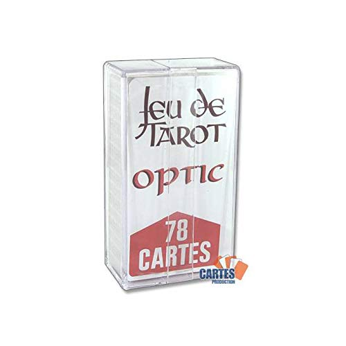 Jeu de 78 cartes : Tarot Optic