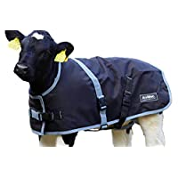 AniMac Super Calf Jacket Premium Synthetic Waterproof Coat both Breathable and Anti-Bacterial Suitable for Goats, Alpaca, Sheep, Dogs, Calves