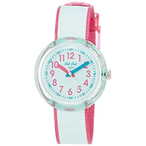 FlikFlak Mädchen Analog Quarz Uhr mit Stoff Armband FPNP046