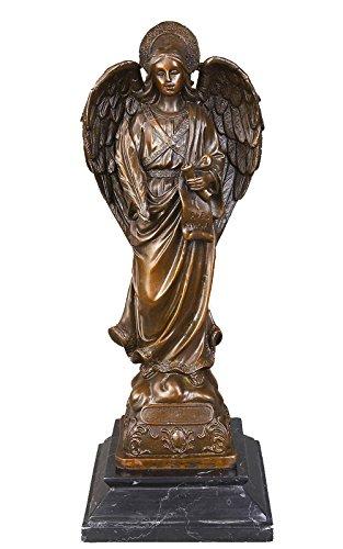 Toperkin Bible Statue Virgin Mary Home Deko Bronze Sculpture TPY-062 Virgin Garten Statue