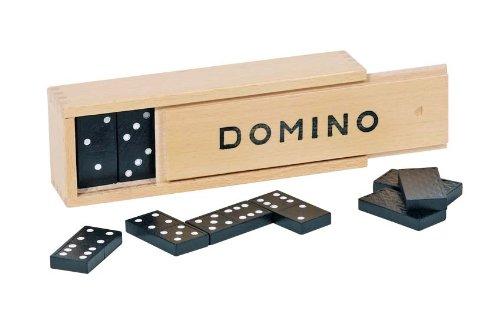 Preisvergleich Produktbild Goki 15335 - Dominospiel - im Holzkasten