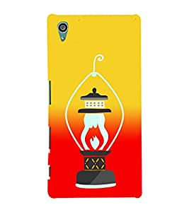 PrintVisa Vintage Lamp Light 3D Hard Polycarbonate Designer Back Case Cover for Sony Xperia Z5 :: Sony Xperia Z5 Dual
