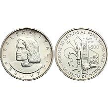 b4bac12b5e Italia 500 lire Argento
