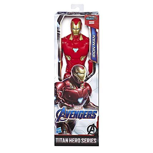 Marvel Avengers: Endgame - Iron Man Titan Hero compatibile con Power FX (Action Figure da 30 cm, Power FX non incluso)
