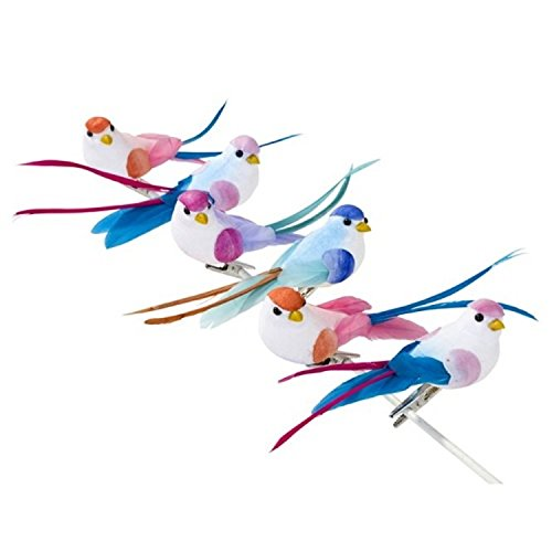talking-tables-be-happy-bird-clip-pack-of-6
