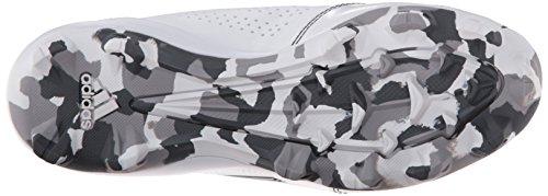 Adidas Performance Wheelhouse 2 W Softball Taquet, blanc / noir / métallique / argent, 6 M Us White/Black/Metallic/Silver