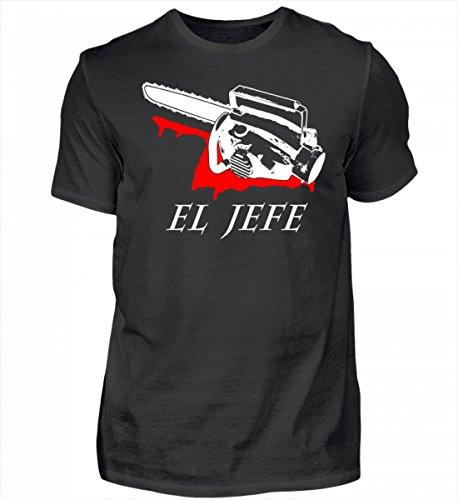 Hochwertiges Herren Organic Shirt - El Jefe - Evil Dead