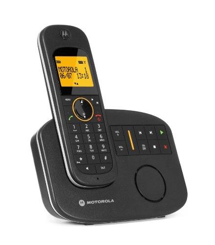Lenovo D1011 Schnurlostelefon mit digitalem AB (60 Min) schwarz