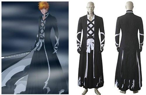Sunkee Bleach Cosplay Kurosaki Ichigo Kostüm, Größe XL: ( Alle Größe Sind Wie Beschreibung Gesagt, überprüfen Sie Bitte Die Größentabelle Vor Der Bestellung ()