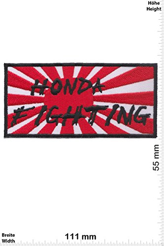 Parches - Honda Fighting - Japan Flag - Deportes de motor -...