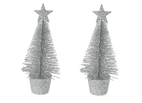 chistmas-decoration-ornamental-christmas-tree-in-silver-pack-of-2