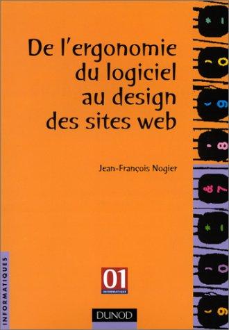 De l'ergonomie du logiciel au design des sites web