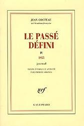 Le Passé défini (Tome 4-1955): Journal