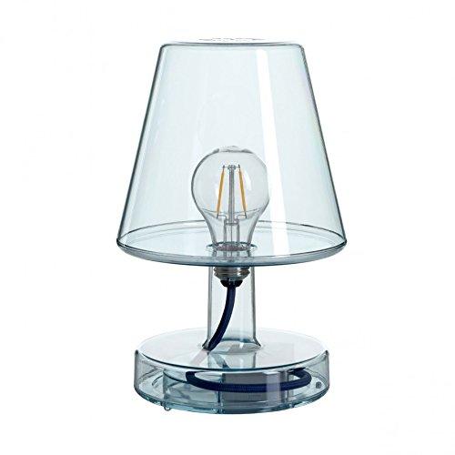 Blau-transparent Lampe (Fatboy Lampe Transloetje Blau)