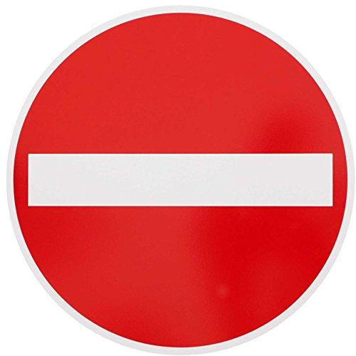 ORIGINAL Verkehrszeichen Nr. 267 VERBOT DER EINFAHRT 420 mm DN Verbotsschild Verkehrsschild RAL-Gütezeichen Schild Verkehrsschilder Schilder Warnschild Straßenschild Straßenzeichen Warnzeichen Straßenschilder Hinweisschild nach StVO