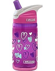 CamelBak 53758 - Bidón para niños y niñas, 4 litros, Pink Hearts
