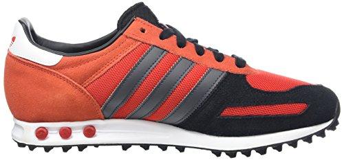 adidas Herren La Trainer Sneakers Rot (Red/Core Black/Dgh Solid Grey)
