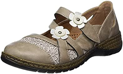 Supremo Damen 4829508 Geschlossene Ballerinas, Braun (Mud), 37 EU