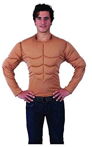 Wrestling Herren Fancy Kostüm Dress - Muskel Oberkörper Top Extra Large