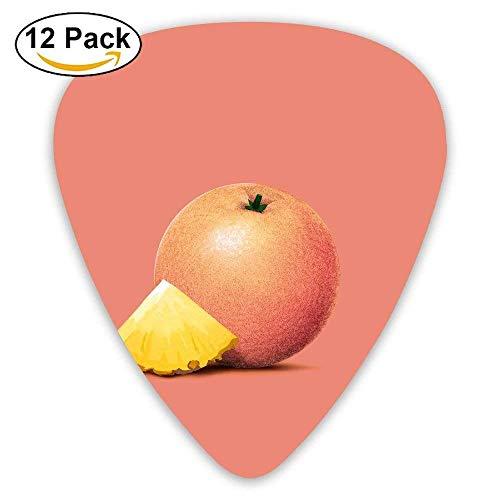 Grapefruit Duo (Grapefruit Fruits Minimal Guitar Pick 12pack)
