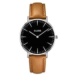 CLUSE La Bohème Silver Black/Caramel CL18204