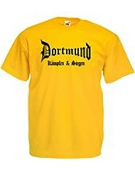 world-of-shirt Herren T-Shirt Dortmund kämpfen und siegen