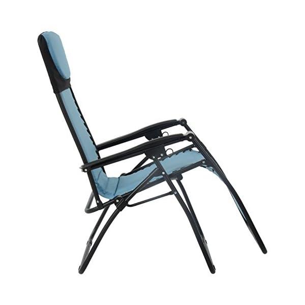 Azuma Padded Zero Gravity Chair - Turquoise