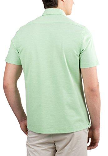 ETERNA Poloshirt COMFORT FIT Piquée unifarben Hellgrün