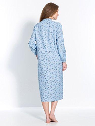 Thermovitex -  Camicia da notte  - Donna Imprime bleu