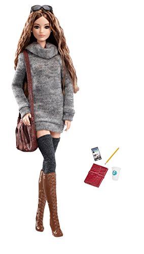 Mattel Barbie DYX63 - Collector The Look Doll Happy Hipster, Spielzeug