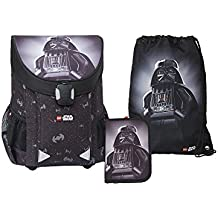 09b9b00430eee Lego - Easy Star Wars Vader School Bag - Easy Schulranzen   Schulranzen Set  3 tlg