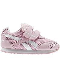 Reebok Royal Cljog 2 KC, Zapatillas de Estar por Casa Bebé Unisex, Blanco (Kitten-White/Luster Pink 000), 20 EU