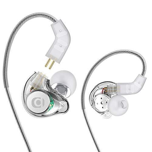 In Ear Kopfhörer, Adorer IM8 Universal-Fit In-Ear Monitor Kopfhörer mit Mikrofon, Geräuschunterdrückung und Austauschbares Kabel