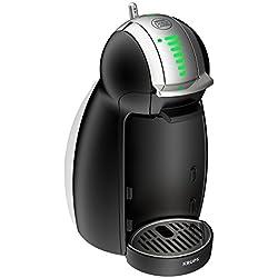Krups Genio 2 KP1608 - Cafetera automática, 1500 W, 1 L, acero, negro