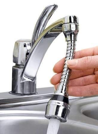 Mitravadan Chhotu 360 Rotate Flexible Kitchen Tap Water Nozzle Saving Filter Faucet Spout Shower Aerator Bathroom Kitchen Faucet Accessories
