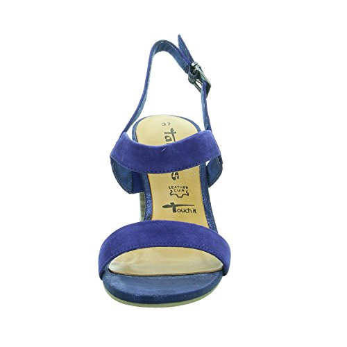 Tamaris 1-28321-28 femmes Sandale Bleu