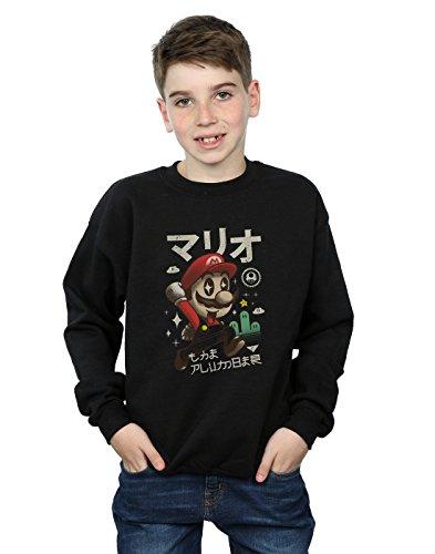 Absolute Cult Vincent Trinidad Niños Kawaii Plumber Camisa De Entrenamiento Negro 7-8 Years