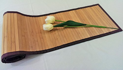 Bamboo Greens Table Runner, Size : 30x135 Cms