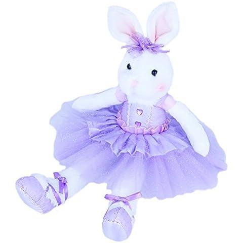 Wewill marca de alta calidad original adorable peluche conejito de peluche relleno animales conejo suave muñeca 15 pulgadas