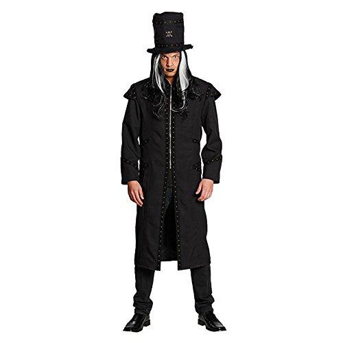 tüm Dunkler Gauner Dämon Totengräber Halloween Gr.50 (Totengräber Kostüm)